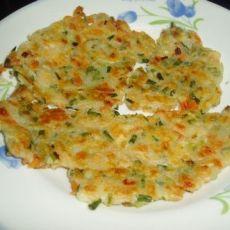红萝卜火腿饼