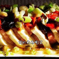 剁椒火腿豆腐