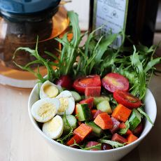 橄榄油大拌菜   夏日健康美食