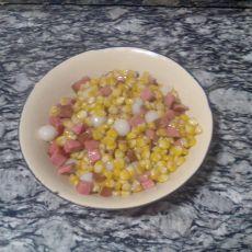 元宵炒玉米