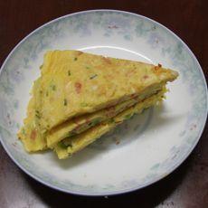 香葱火腿鸡蛋饼