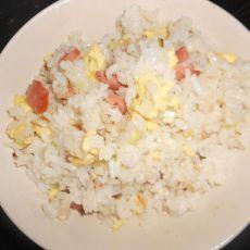 火腿蛋炒饭的做法步骤