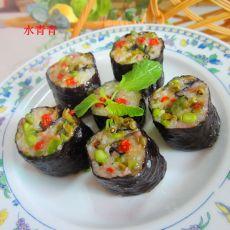 咸菜火腿寿司团