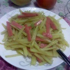 土豆火腿丝