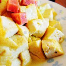 鸡汤火腿豆腐