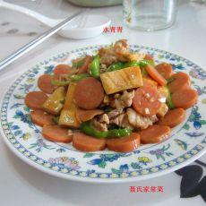 香干火腿炒肉