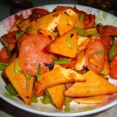 火腿炒豆腐干