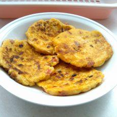胡萝卜豆渣饼的做法