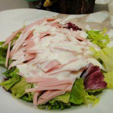 火腿沙拉的做法