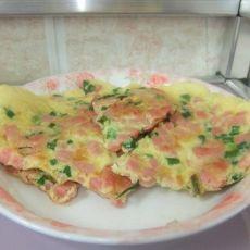 火腿鸡蛋煎饼
