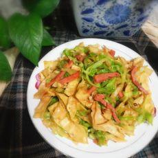 卷心菜炒饼