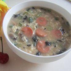 火腿鸡蛋疙瘩汤