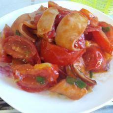 番茄烧火腿