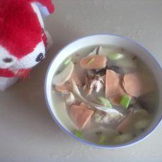 鱼头火腿菌汤