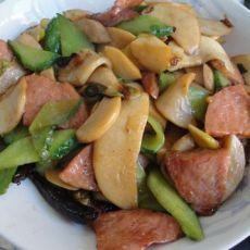 杏鲍菇黄瓜肉片
