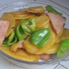青椒土豆片的做法