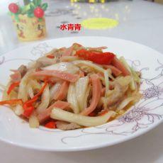 白菜瘦肉丝
