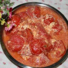 火腿鸡蛋炒番茄的做法