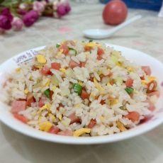 杂蔬蛋炒杂粮饭