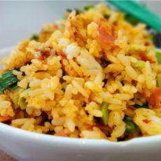 韩国泡菜炒米饭的做法