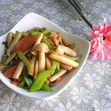清炒蟹味菇