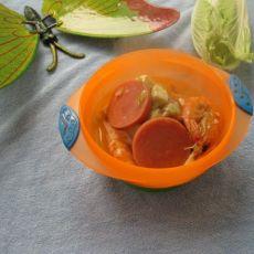 鲜虾豆腐汤的做法