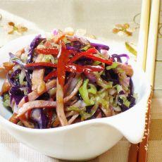 火腿炒椰菜