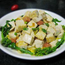 火腿豆腐丁