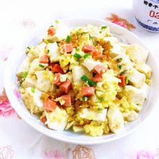 蛋包豆腐丁