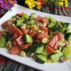 玉米黄瓜丁
