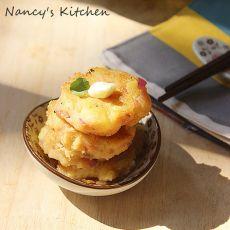 日式土豆沙拉煎饼
