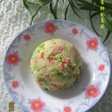 芹菜香肠土豆泥
