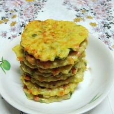 香肠莲藕饼
