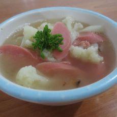 花菜汤 --简单开胃