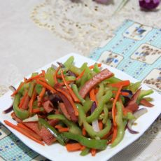 青椒胡萝卜