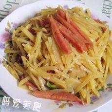 香肠土豆丝