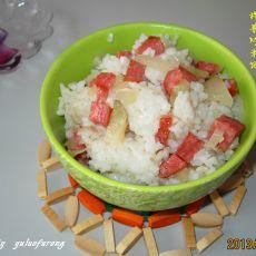 榨菜炒米饭