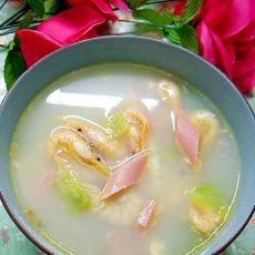 咸干虾黄瓜汤