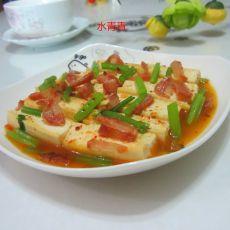 香芹香肠嫩豆腐