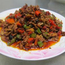 豆豉炒青椒