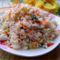 胡萝卜鸡蛋炒米饭
