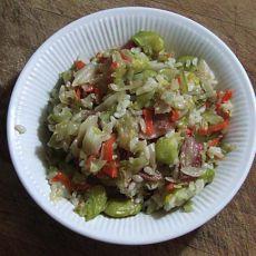 蚕豆咸肉菜饭