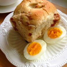 香草香肠面包