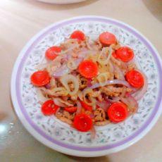 洋葱炒肉丝儿的做法