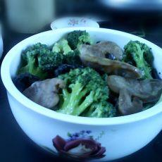 杂炒花椰菜