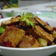 干锅千页豆腐的做法