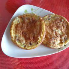红肠煎鸡蛋