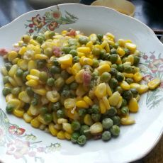 玉米青豆丁的做法
