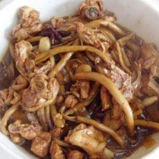 茶树菇炖鸡肉