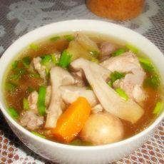 香菇豆腐炖鸡